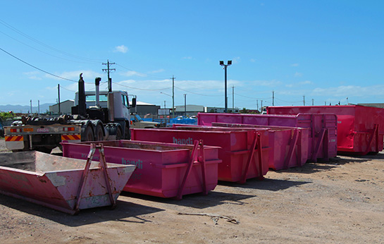 A wide range of skips to suit your needs.